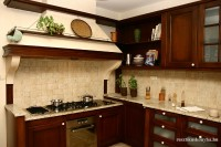 barna  fa rusztikus konyhabútor 2